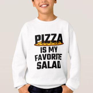 Sweatshirt La pizza est ma salade préférée