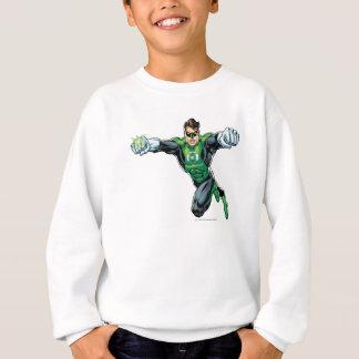Sweatshirt Lanterne verte - comique, regardant en avant