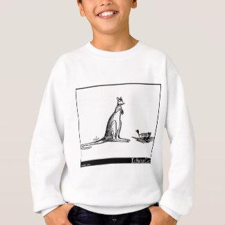 Sweatshirt Le canard et le kangourou