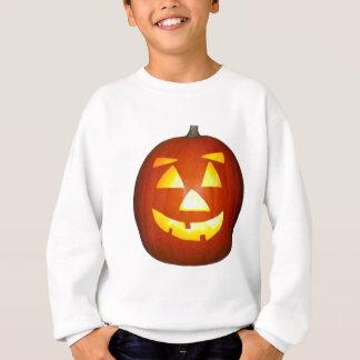 Sweatshirt Le citrouille de Halloween Jack-o'-lantern badine