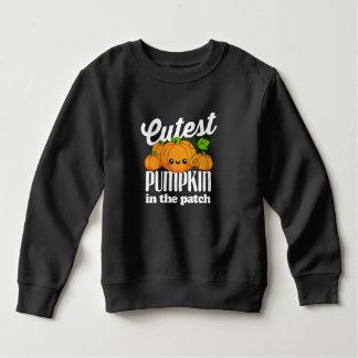Sweatshirt Le citrouille le plus mignon pendant l'automne de