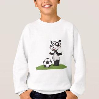 Sweatshirt Le football d'ours panda