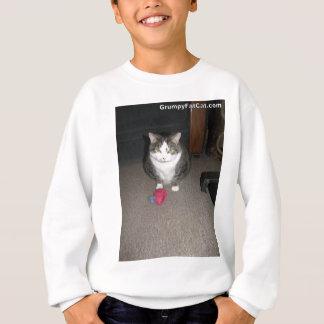 Sweatshirt Le gros chat grincheux ne s'amuse pas