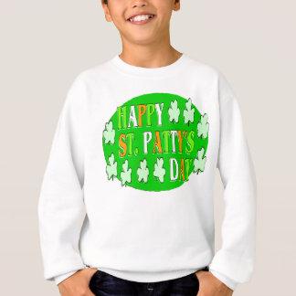 Sweatshirt Le jour de St Patrick heureux