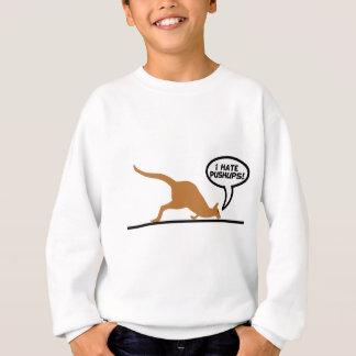 Sweatshirt Le kangourou déteste des pousées