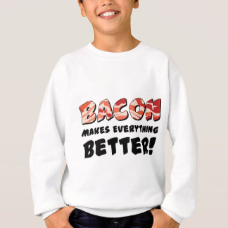 Sweatshirt Le lard rend tout meilleur