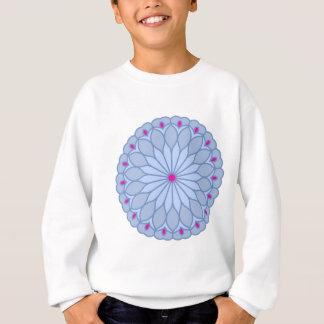 Sweatshirt Le mandala a inspiré la fleur de bigorneau