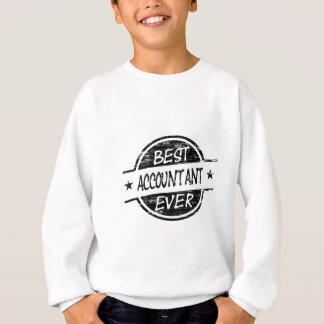 Sweatshirt Le meilleur noir de comptable jamais