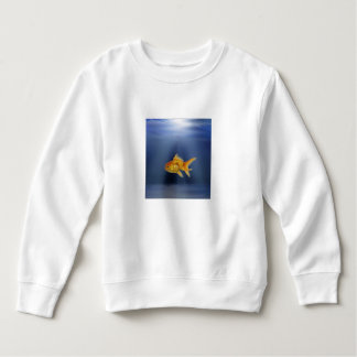 Sweatshirt Le poisson d'or badine le chandail