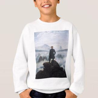 Sweatshirt Le vagabond au-dessus de la mer du brouillard par
