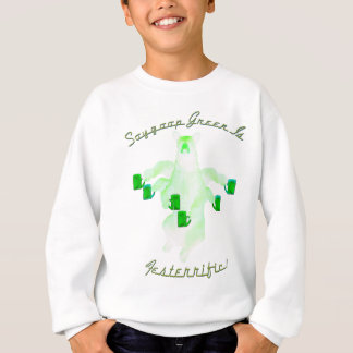 Sweatshirt Le vert de Soygoop est Festerrific
