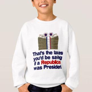 Sweatshirt Les impôts que vous sauveriez