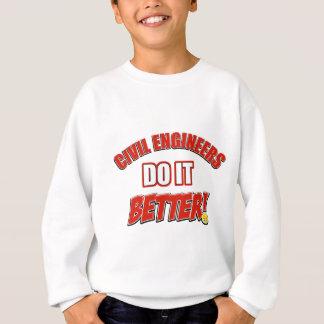 Sweatshirt Les ingénieurs civils il améliorent