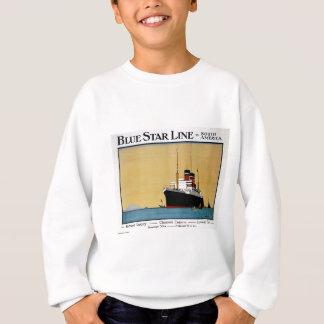 Sweatshirt Ligne Amérique du Sud d'étoile bleue