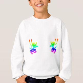 Sweatshirt Lions d'arc-en-ciel