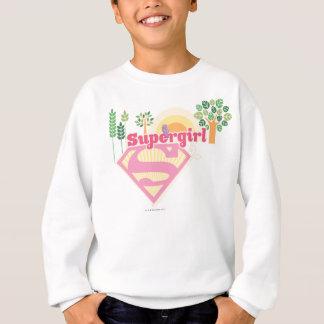 Sweatshirt Logo de nature de Supergirl