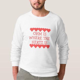 Sweatshirt L'ohm est où Hertz est