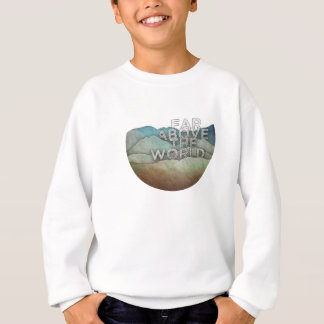 Sweatshirt Loin au-dessus du monde