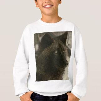 Sweatshirt Loup noir