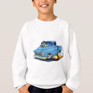 Sweatshirt Lt 1957 de collecte de Chevy Blue