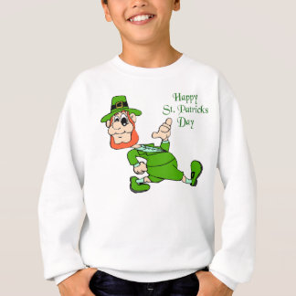 Sweatshirt Lutin du jour de St Patrick