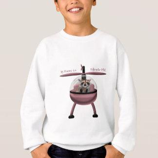 Sweatshirt Ma maman est un pilote d'hélicoptère