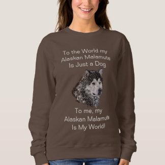 Sweatshirt Malamute d'Alaska