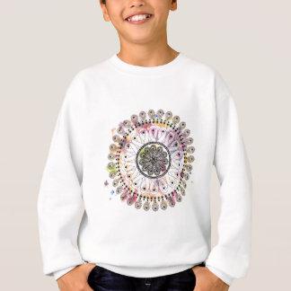 Sweatshirt Mandala d'aquarelle