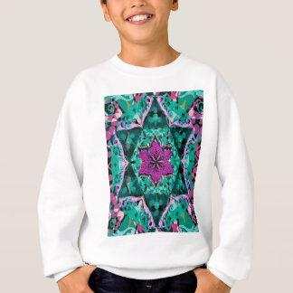 Sweatshirt Mandala de fleur par Amelia Carrie