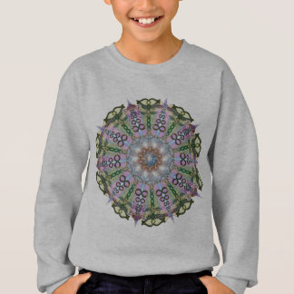Sweatshirt Mandala de métamorphose