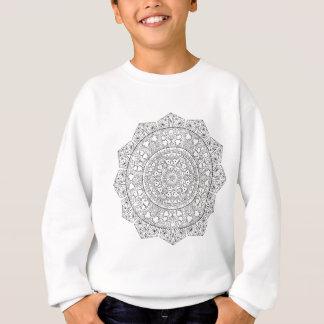 Sweatshirt Mandala de produit chimique d'amour