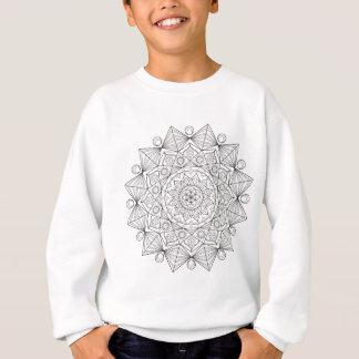 Sweatshirt Mandala de tournesol