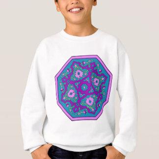 Sweatshirt Mandala de turquoise