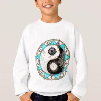 Sweatshirt Mandala de Yin Yang