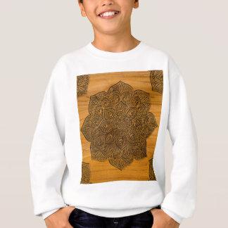Sweatshirt Mandala en bois