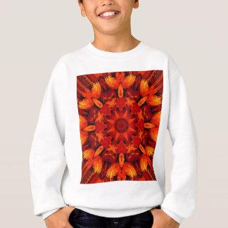 Sweatshirt Mandala 'Fire