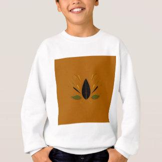 Sweatshirt Mandala sur le brun