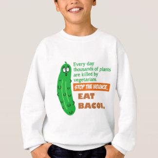Sweatshirt Mangez du lard
