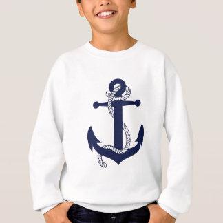 Sweatshirt Marine d'ancre de navigation