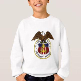 Sweatshirt Marins de joint de marine marchande des Etats-Unis