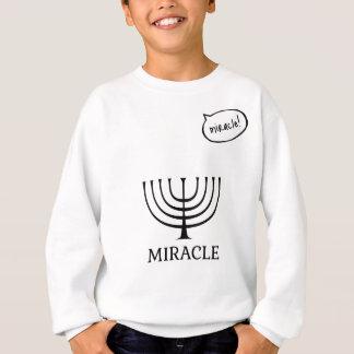 Sweatshirt Miracle - noir
