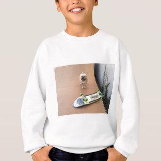 Sweatshirt Mochi trop chaud pour manipuler