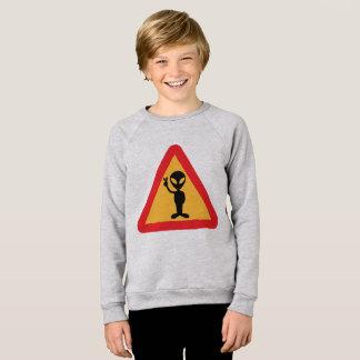 Sweatshirt Moleton infantile ET Paix et Amour