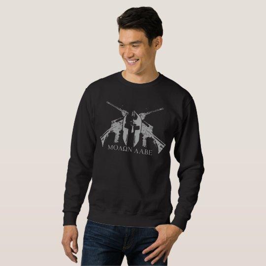 Sweatshirt Molon Labe Bis