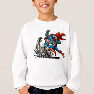 Sweatshirt Monstre de combats de Superman