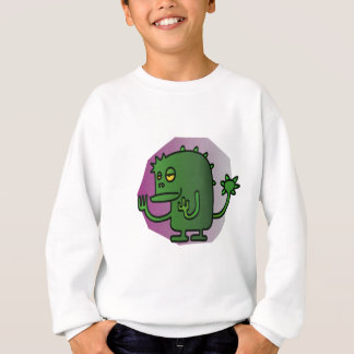 Sweatshirt Monstre vert