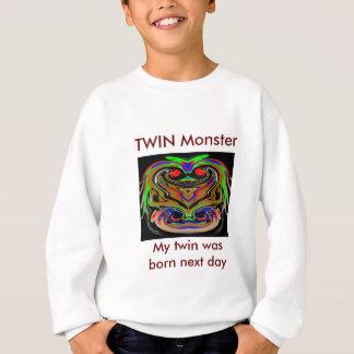 Sweatshirt Monstres JUMEAUX de HALLOWEEN