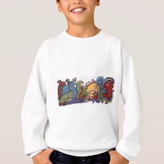 Sweatshirt Monstres mignons en monde étrange