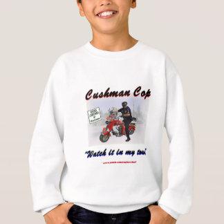 Sweatshirt Montre de cannette de fil de Cushman il en ma