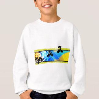 Sweatshirt moto